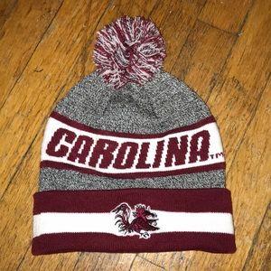 University of South Carolina Pom Pom Hat